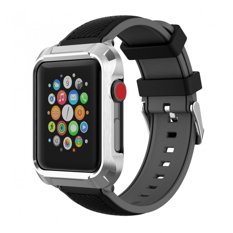 Best Buy Apple Watch Bands and Case for Women & Men, Compatible Series 3/ 2/ 1 (42mm Black) online with free shipping from HALLEAST online shop.