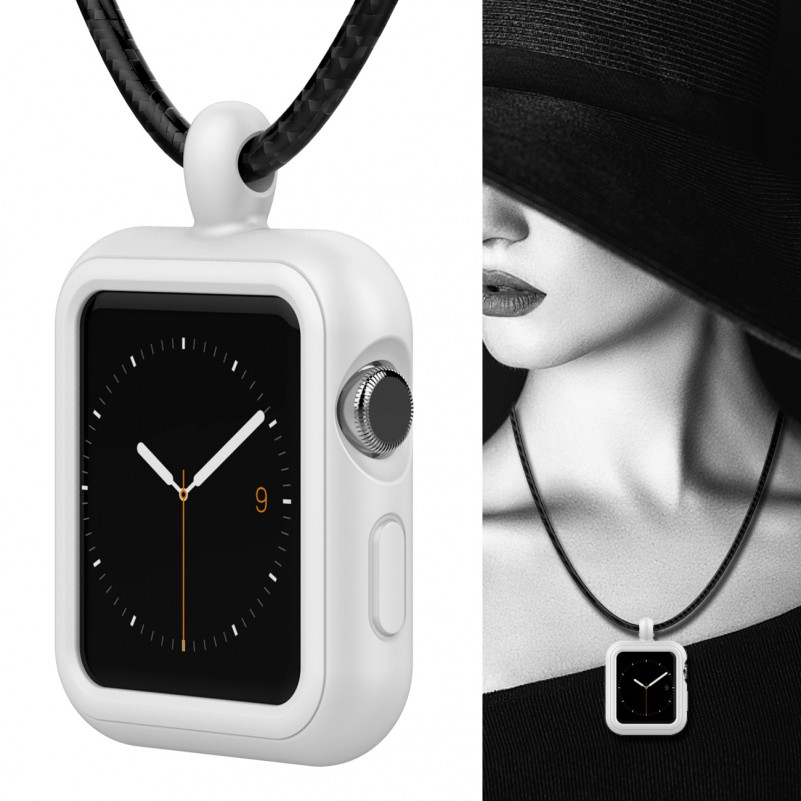 click to choose White - 38mm